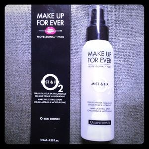 NWOT. Makeup Forever Setting Spray 4.22Floz.